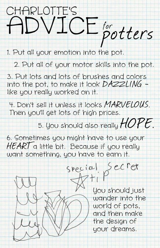 Charlotte's Advice