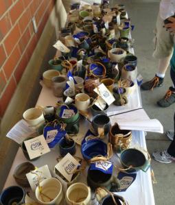 A table o' mugs