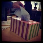 Kleenix Box - Learning Commons installation, Will K.